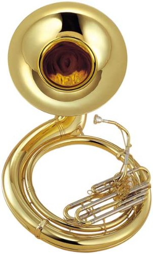 Yamaha YSH-411WC Brass Sousaphone with Case
