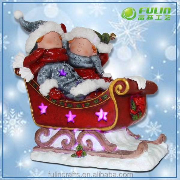 Christmas santa figurines outdoor buy christmas santa for Outdoor christmas figures