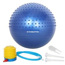 Anti-burst PVC Yoga Massage Übung Ball Gym Ball Balance Stabilität <span class=keywords><strong>Fitness</strong></span> Yoga Ball mit Luftpumpe