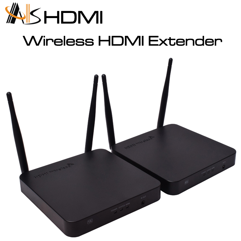 HOT HDMI ASK Wireless Hdmi Audio Video Transmitter And Receiver Wifi audio transmitter 100M