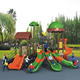 Wholesale kids play ground equipment outdoor large plastic slide
