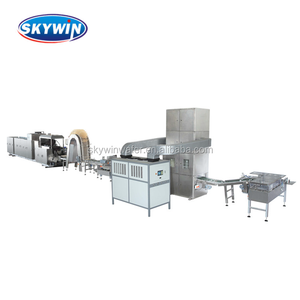 Automatic Cream Wafer Biscuit Machinery Snack Machine Chocolate Wafer Production Line