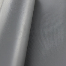 High temperature, abrasion, chemical, weather and UV resistant silicone impregnated fiberglass fabrics