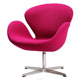 Modern Classic design Swan Chair in Fabric For Home and Office