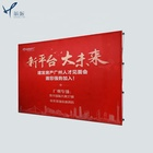 China produces 3*3/3*4 pop up backdrop folding panel display