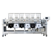 hot selling computerized 6 head embroidery machine for cloth and cap price computerized embroidery sewing machine