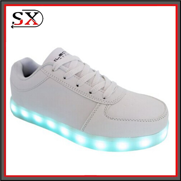 2016 Kids Light Flashing Sneakers Led Shoes Adult Roller Shoes With Lights