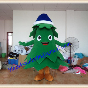 Tree Christmas mascot for sale