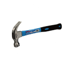 FIXTEC Hand Tools America Style Claw Hammer with Fiber Glass Handle 8oz/16oz