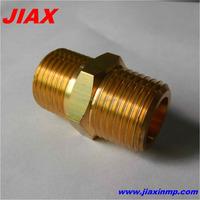 OEM manufacturer cnc turning brass pipe fitting