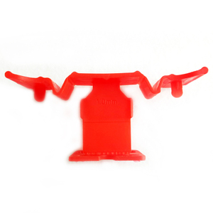 Plastic tile leveling clip ceramic tile spacers 1mm