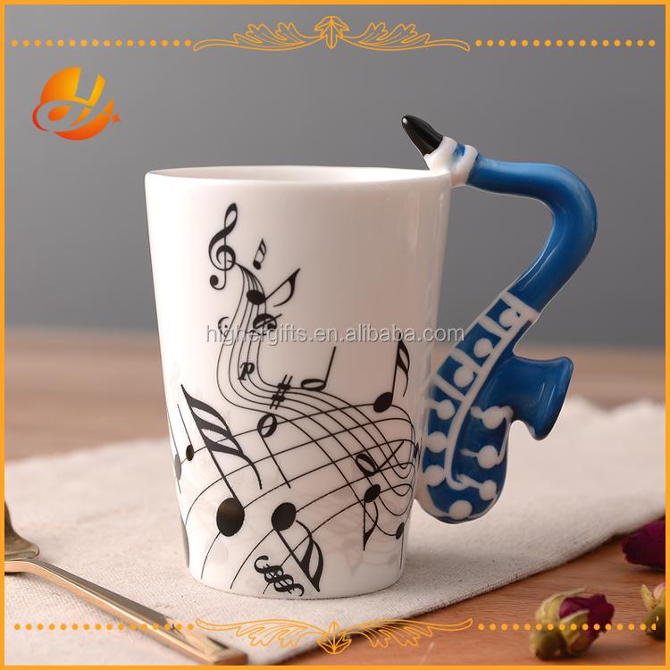 Giftgarden caf 3d dise o nico mango fresco cer mica de for Capacidad taza cafe con leche