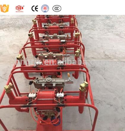 New condition pneumatic hydraulic grouting pump for coal mine export with engineers availiable