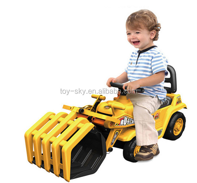 Best Construction Toys And Trucks For Kids : Engineering tractor construction toys kids ride on