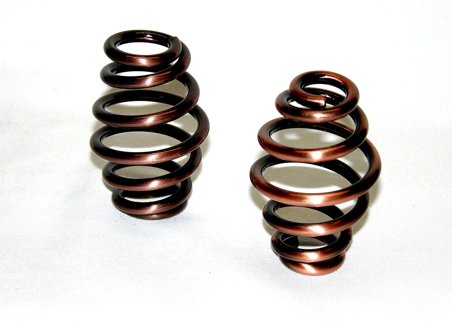 Mr Luckys Universal Fit Antique Copper finished 3 inch Solo Seat Springs for Harley, Bobber, Vintage, Retro, Custom.
