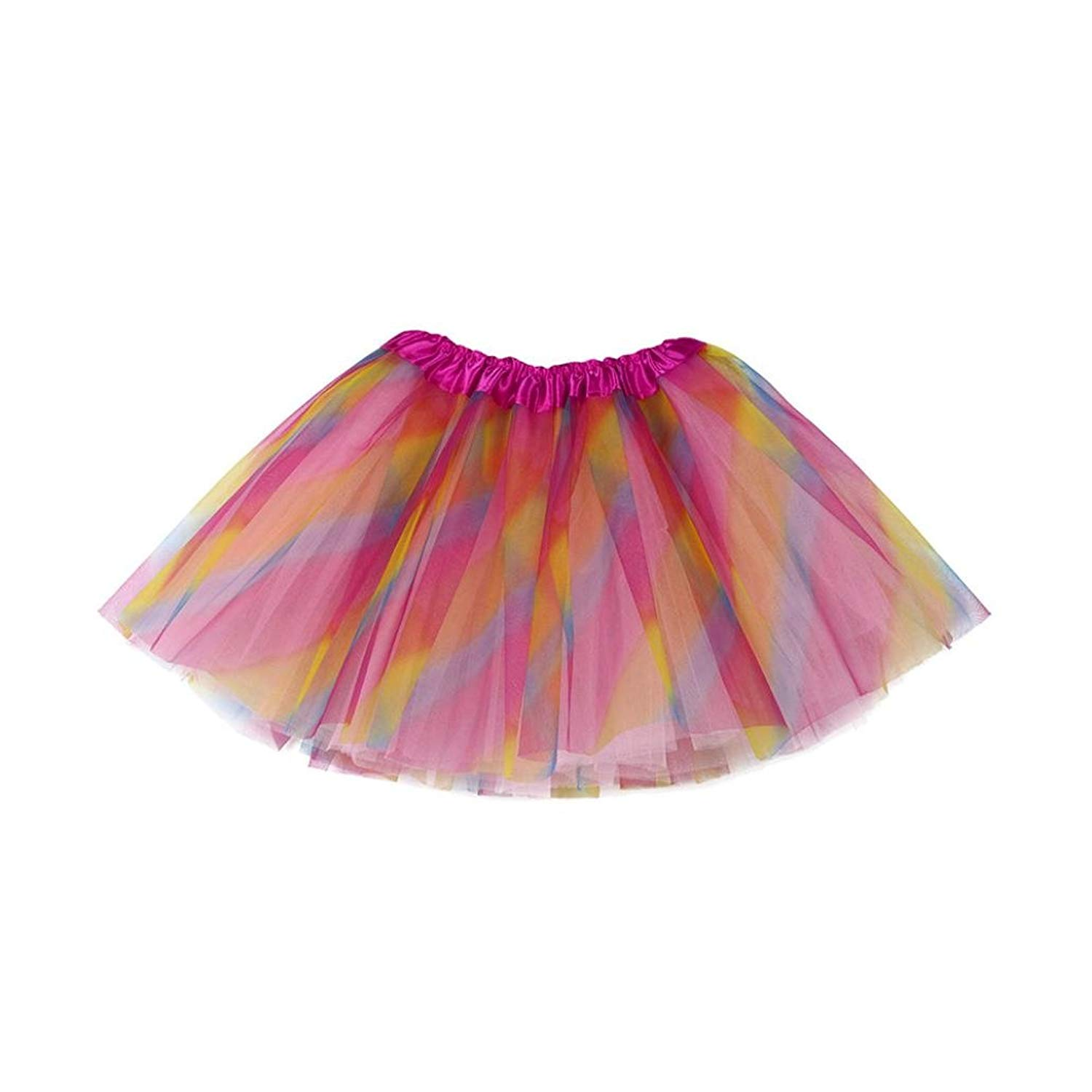 17c21b295 Get Quotations · Auwer Toddler Kids Fashion Skirt Cute Baby Girls Solid Tutu  Ballet Skirts Fancy Party Skirt