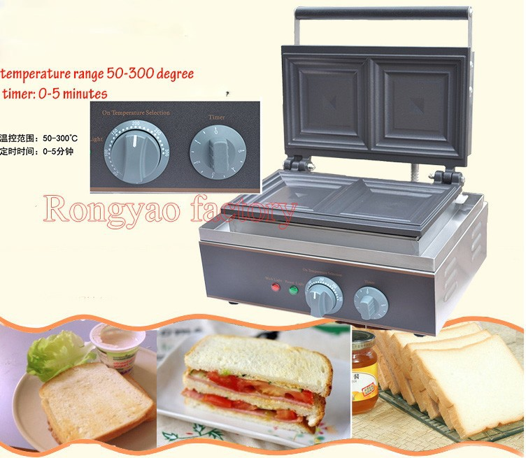 DELICIOUS Sandwich Maker Waffle Iron Muffin Maker Machine Toast Breakfast Machine
