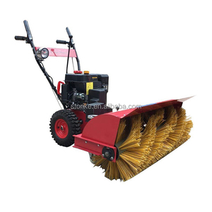walk behind street sweeper,small street sweeper,gas powered snow sweeper