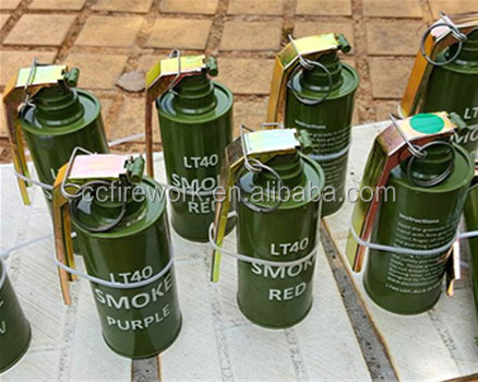 Metal M18 Smoke bomb fireworks for sale/Military exercise smoke bomb/color smoke fireworks