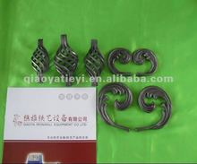 2012 cast and forged wrought iron component