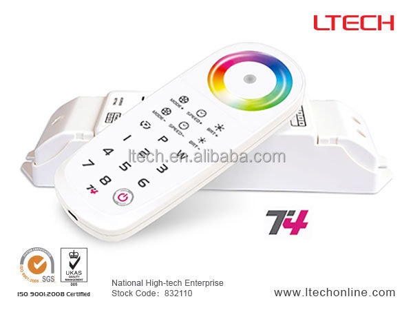 china supplier touch controller remote control remote control light t4,programmable led dimmer