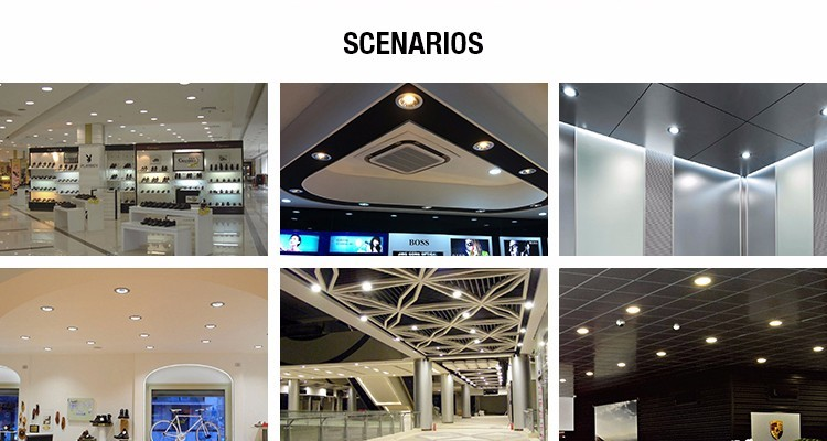 RoHS certification motion sensor dimmable warm white alibaba website led ceiling lighting