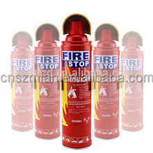 500ml 1000ml,750ml fire extinguisher for car, portable fire extinguisher, car mini fire stop