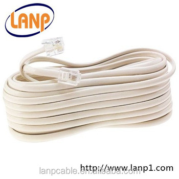 4p4c extension rj11 cord cable