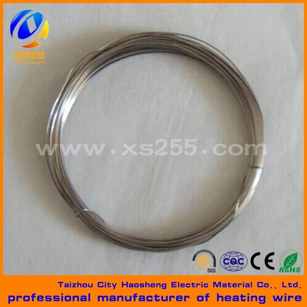 insulating electric wire nickel chromium electric heating wire nichrome 2080 electric wire