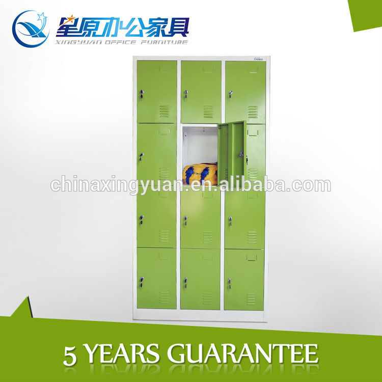 Cold rolled steel portable 12door parcel locker utility storage office furniture