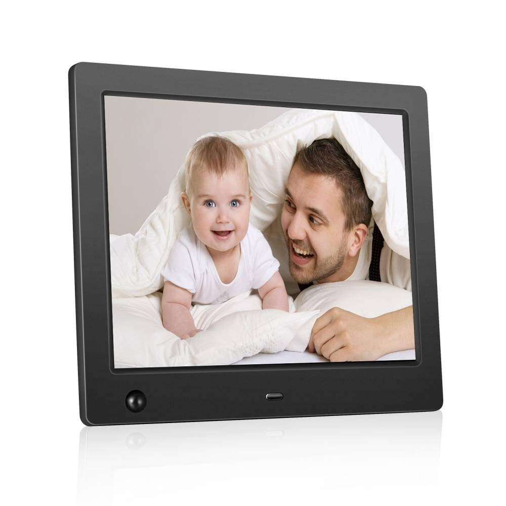 Electronic photo frames 8inch Electronic Digital Photo Frame IPS 4:3 1024x768 Display Digital Photo Frame with HU Motion Sensor 1080P 720P Video Player Stereo/MP3/Calendar/Time ¡­