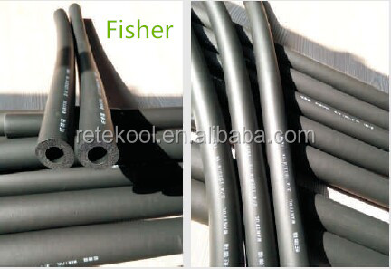 Fireproof Building Construction Material NBR/PVC Rubber Foam Insulation Pipe and Insulation tube