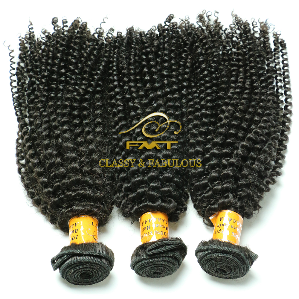 100% unprocessed Brazilian hair extension long lasting one donor kinky curly braiding hair