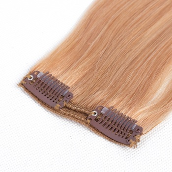 5eae20ffe7d chinese supplier cuticle aligned hair cash on delivery in india virgin Clip- in Hair Extension