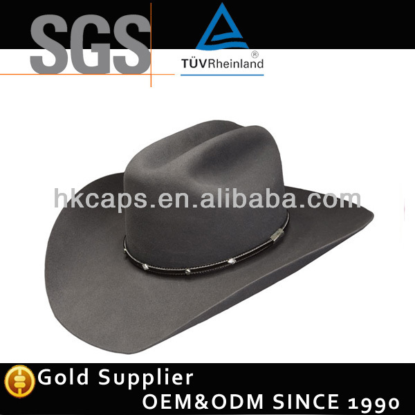 Wholesale Hot Selling Crafts Straw Cowboy Hats/Caps