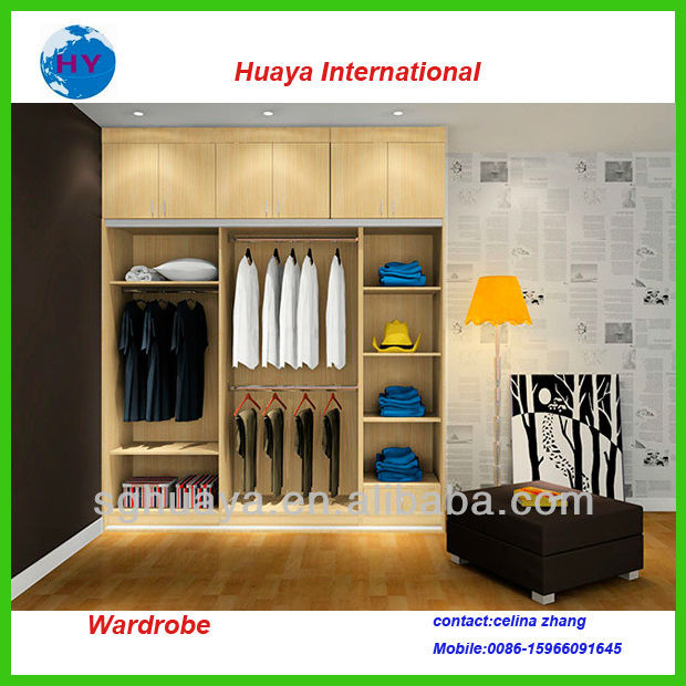 bedroom wardrobe furniture oak solid wood wardrobe