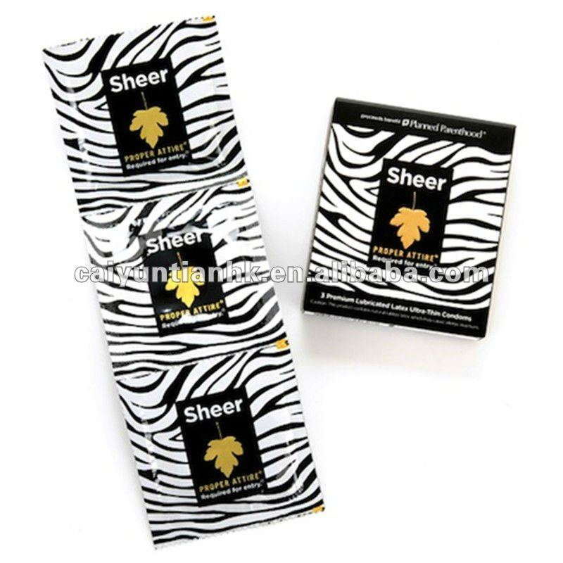 Customized Small Bag For Packaging Condom