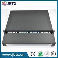 WAN OEM 1/4P rack mount unit 24 ports fiber optical distribution box