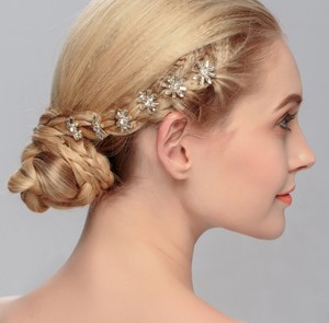 Crystal Bridal Hair Accessories Headpieces Clip Comb Vine Piece Hairpin Ornament for Wedding bride party bride accessories
