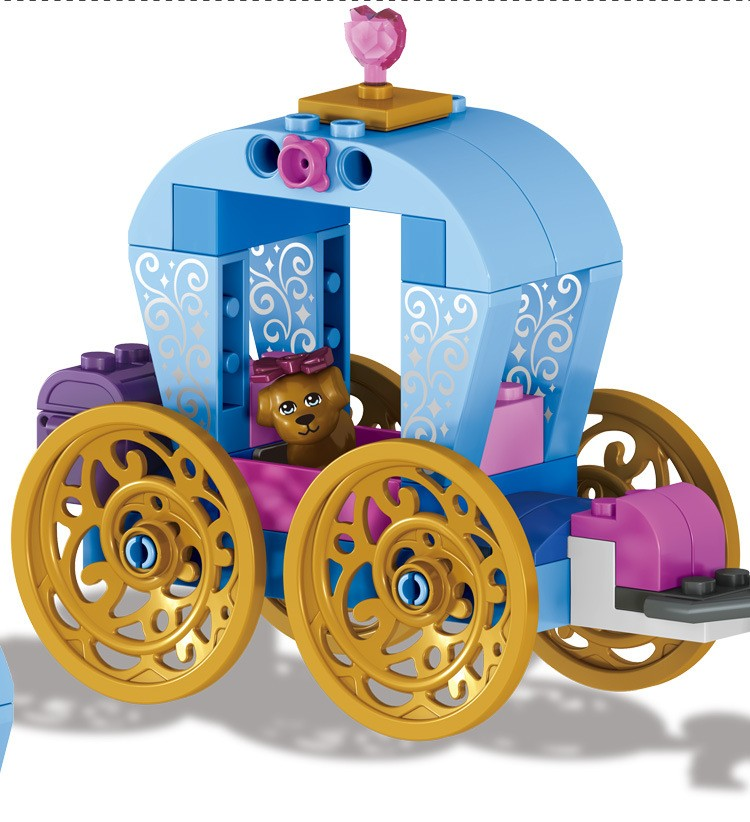 UKLego Duplo Princess Cinderella's Pumpkin Carriage Toy.
