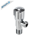201 stainless steel chrome plating finish 1/2 inch valve for sink bathroom toilet