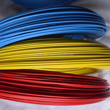household 6mm2 PVC coated solid copper building electric cable wire