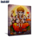 Modern Art Indian Buddha Abstract Oil Painting Ganesh Canvas Painting