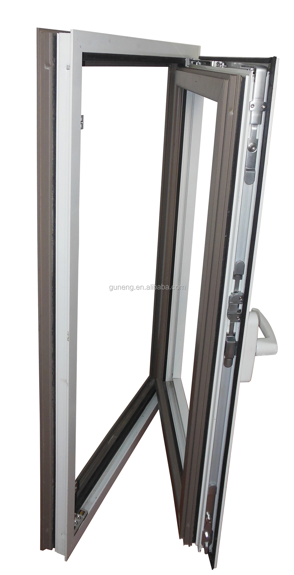 Tilt Turn Window Hardware : Aluminum window tilt and turn hinges