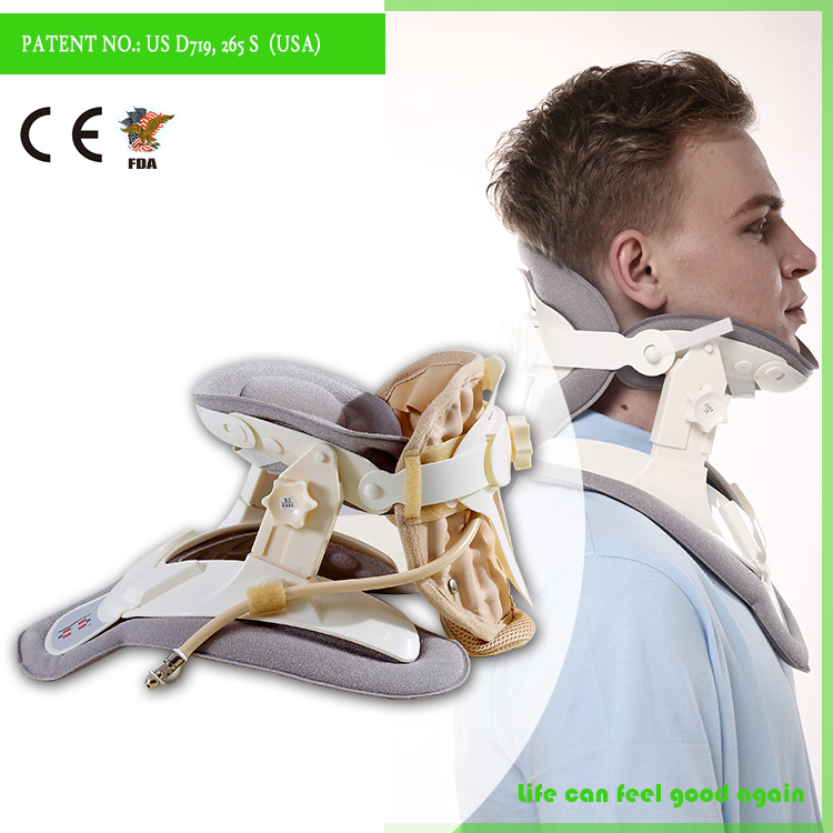 High quality surgical neck collar comfortable cervical traction device