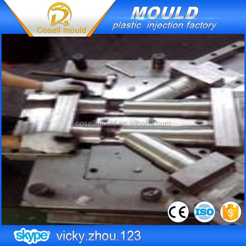 plastic pipe fitting injection mould pvc/water pipe of plastic mould/dic pipe