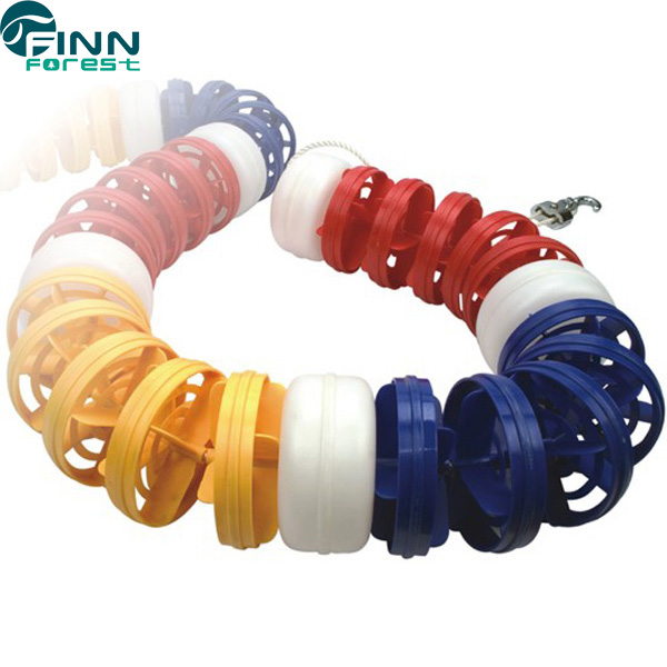 11cm, 12cm, 15cm, 20cm Anti-wave Swimming Pool Lane Rope swimming pool float line