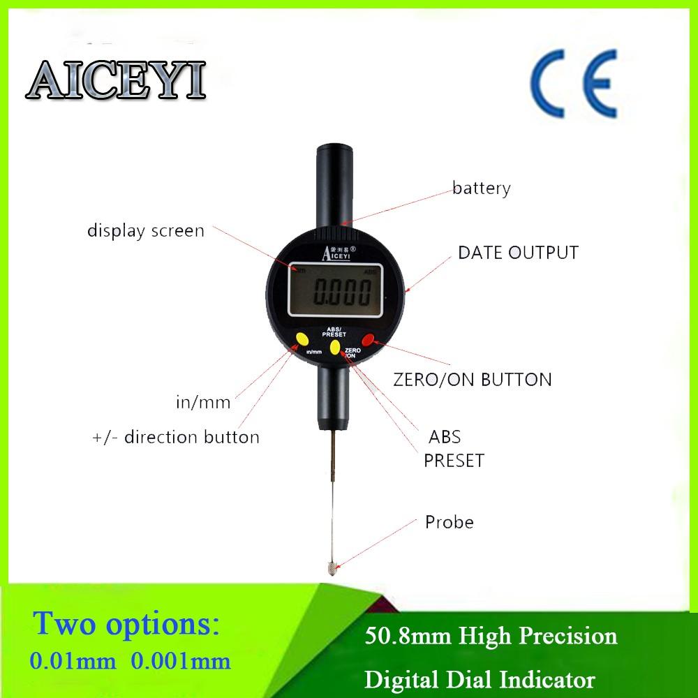 Dial Indicator Remote Display Digital : Digital dial indicator high precision bore gauge