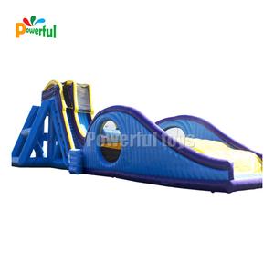 drop kick water slide , flying water slide , drop kick inflatable slide