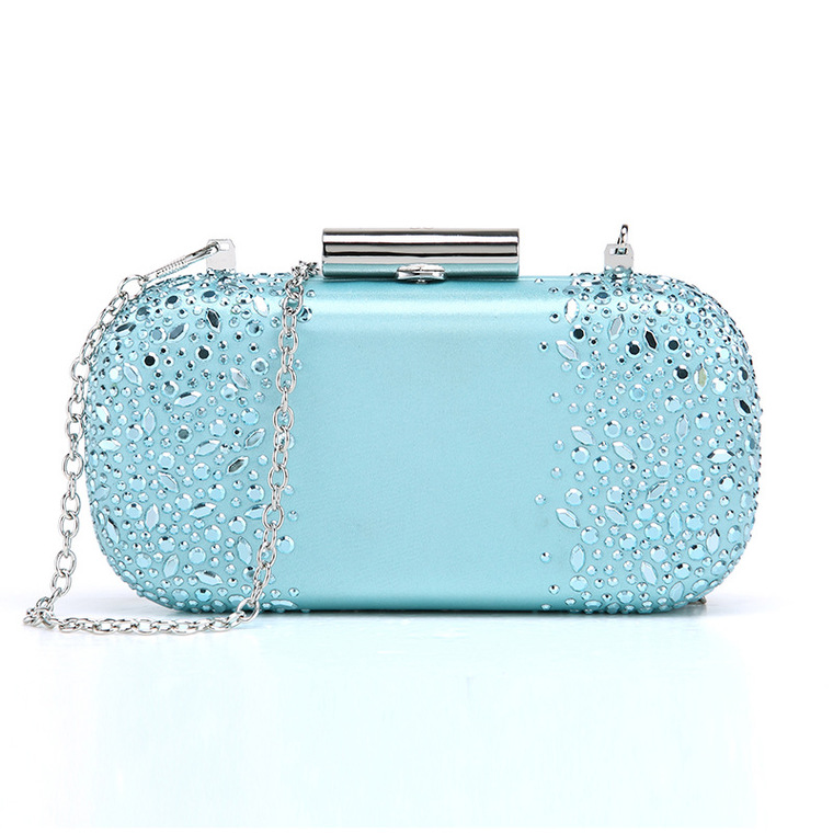Hot Sale Luxury Water Drop Evening Handmade Crystal Bag